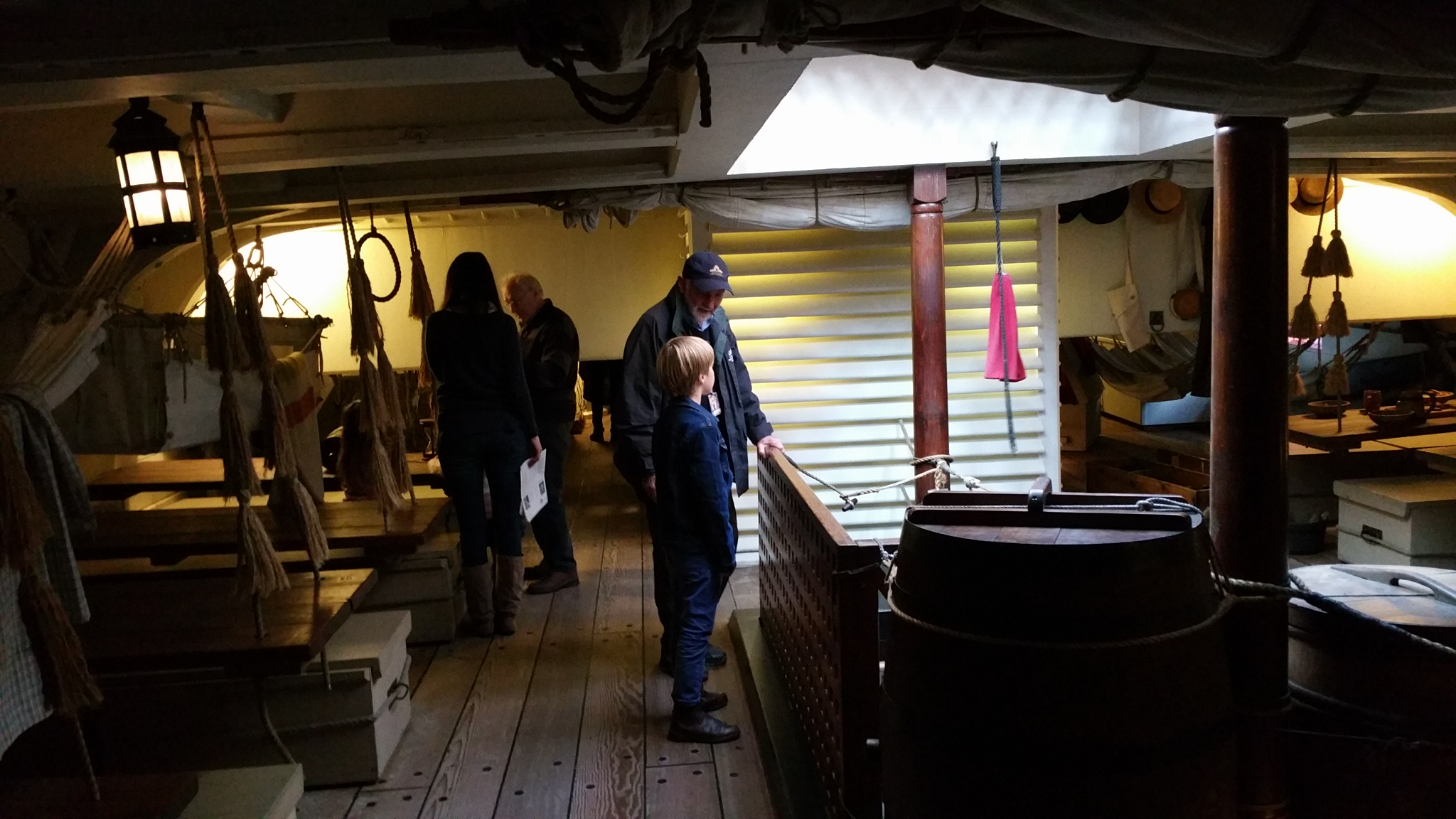 Below decks HMB Endeavour